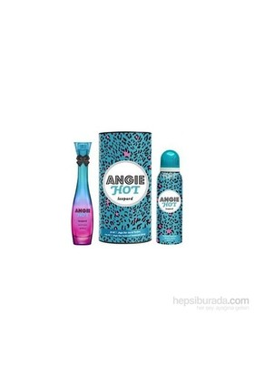 Rebul Angie Hot Leopard Edp 50Ml Kadın Parfüm + 150 Ml Deodorant Set