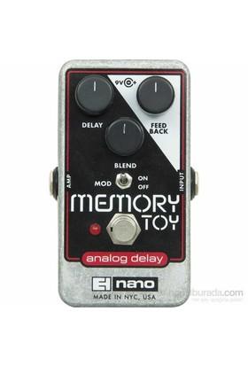 Electro Harmonix Memory Toy Analog Delay With Modulation Pedal