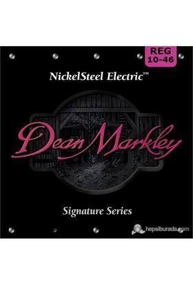 Dean Markley Nickelsteel Electric - Reg Elektro Gitar Telleri