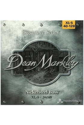 Dean Markley Nickelsteel Bass 5-Stg - Xl Bas Gitar Telleri