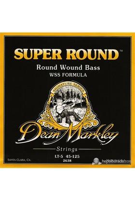 Dean Markley Super Round Bass 5-Stg - Lt Bas Gitar Telleri