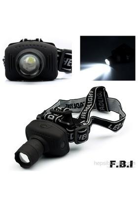 F.B.I Zoom Pompalı Kafa Feneri - F-8208