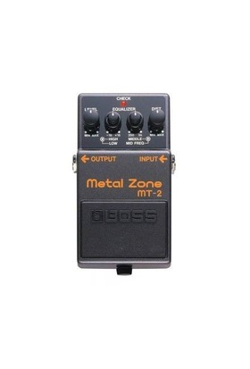 Boss Mt-2(T) Metal Zone Compact Pedal