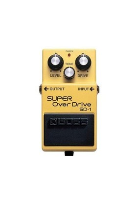 Boss Sd-1(T) Super Overdrive Compact Pedal
