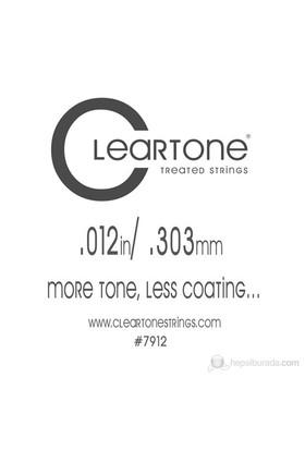Cleartone Plain Single (.012) Emp Elektro Gitar Teli
