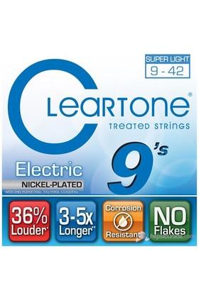 Cleartone Electric Ultra Light (9-42) Elektro Gitar Teli