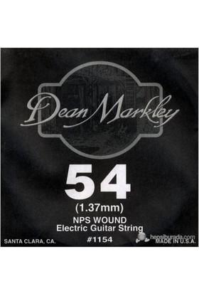 Dean Markley Nickel Steel Wounded .054 Elektro Gitar Telleri