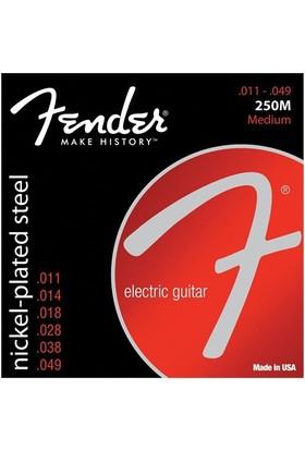 Fender Super 250'S Guitar Strings, Nickel Plated S