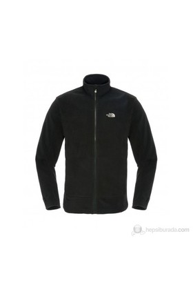 The North Face - M 100 Glacier Full Zip Fleece Erkek Polar Siyah