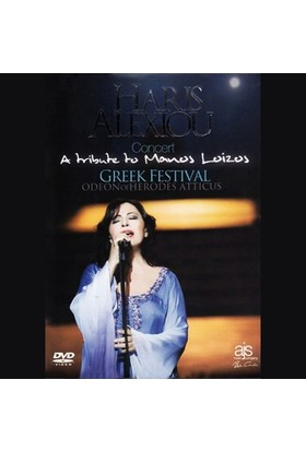 Haris Alexiou Live Concert Dvd - Concert A Tribute To Manos Loizos Greek Festival