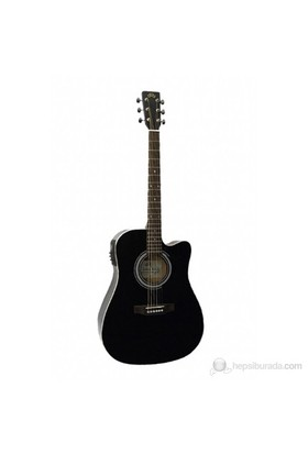 SX MD160CE/BK Elektro Akustik Gitar