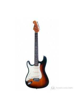 SX SST62+/LH/3TS Solak Elektro Gitar