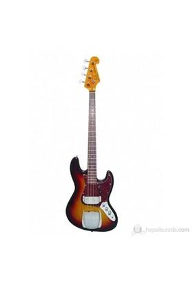 SX SJB62 C 3TS Bass Gitar