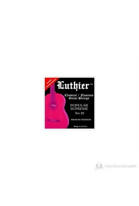 LUTHIER SET20 Klasik Gitar Teli