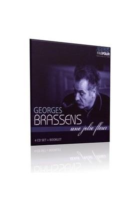 Georges Brassens - Une Jolie Fleur (4 CD)