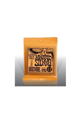 Ernie Ball Po2222 Hybird Slinky Nickel Wound 009-046 Elektro Gitar Tel Seti