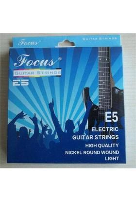 Elektro Gitar Teli Focus E5