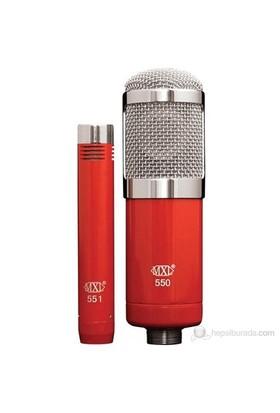 MXL Microphones 550-551R Mikrofon Paketi