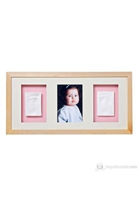 Baby Memory Prints El ve Ayak İzi 3'lü Çerçeve