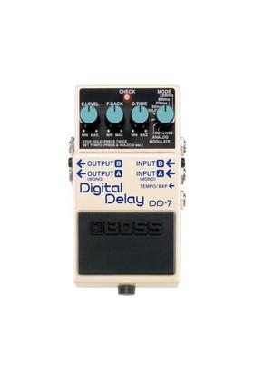 Boss Dd-7 Digital Delay Elektro Gitar Analog Pedal