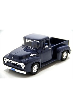 Motormax 1:24 1956 Ford F-100 Pickup -Lacivert Model Araç