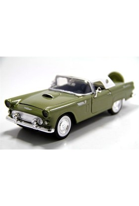Motormax 1:24 1956 Ford Thunderbird -Yeşil Model Araba