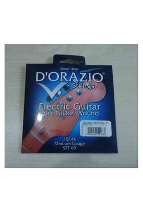 Dorazio 63 Elektro Gitar Teli İtalyan 010-04