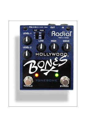 Tonebone Hollywood Bones Distorsiyon Pedalı