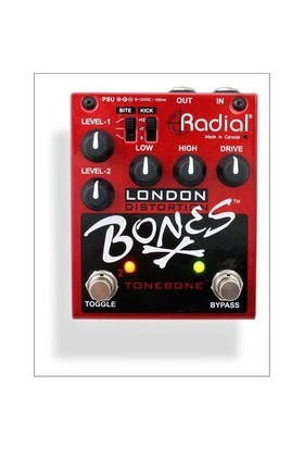 Tonebone London Bones Distorsiyon Pedalı