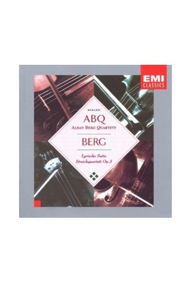 Alban Berg Quartett - Berg Cd