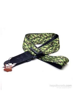 Airman Camouflage Gitar Askısı