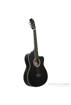 Garcia LC 3901 CBK Cutaway Siyah Klasik Gitar
