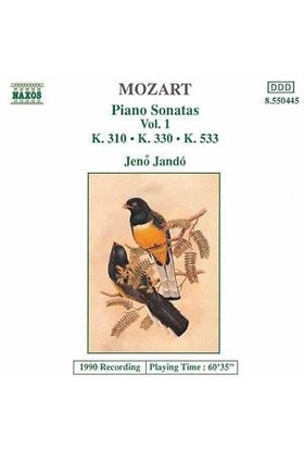 Mozart - Piano Sonatas Vol. 1 (Cd)