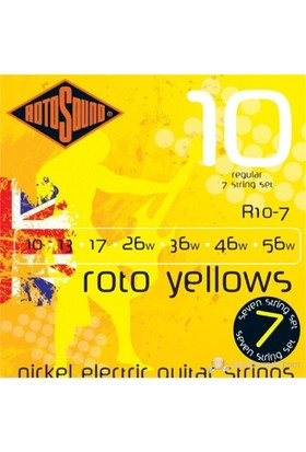 Rotosound R10-7 Nickel 7 String Elektro Gitar Teli Seti