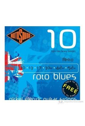 Rotosound RH10 Mavi Elektro Gitar Teli