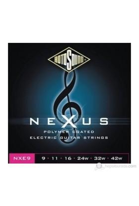 Rotosound NXE9 Nexus Polymer Elektro Gitar Teli