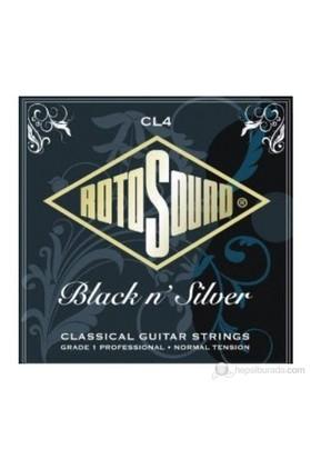 Rotosound CL4 Black N`Silver Klasik Gitar Teli