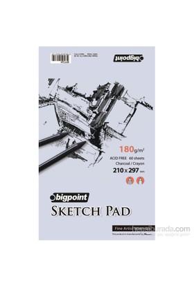 Bigpoint Bpp324 Sketch.Pad 180Gr 60 Yp A4 Bpp324
