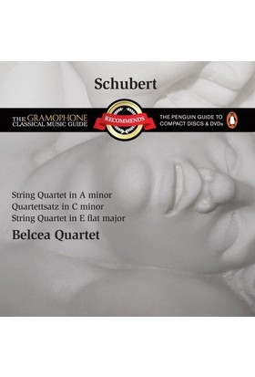 Schubert - String Quartet İn A Minor Cd