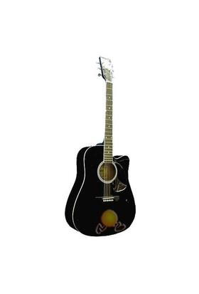Viper Akustik Gitar V800BK