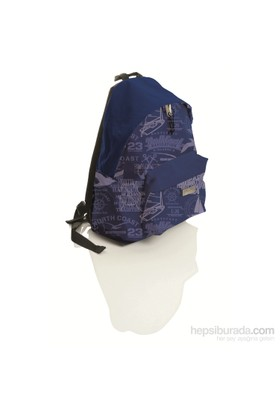 Faber-Castell Basic Sırt Çantası Desenli Marine (5177190127)