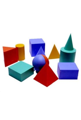 Hatas Şablon Geometrik Cisimler 872