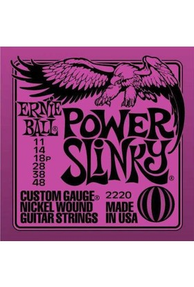 Ernie Ball P02220 11-48 Elektro Gitar Teli