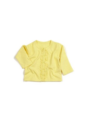 Zeyland Kız Çocuk Sarı Hırka - K-61H2412