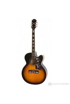 Epiphone EEJ2VSGH1 Sunburst Elektro Akustik Gitar