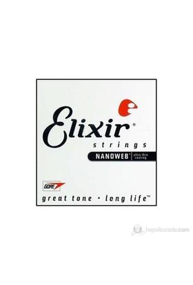 Elixir 014 Tek Gitar Teli