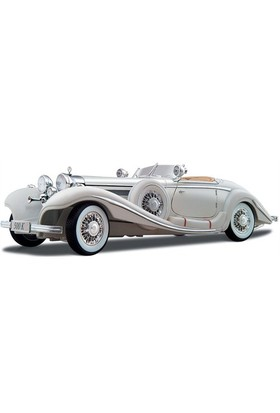 Maisto Mercedes Benz 500k Special Roadster Model Araba 1:18 Premiere Edition Beyaz