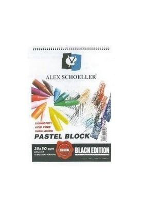 Alex Resim Blok 35X50 220Gr P.Siyah 15 Li Alx-894