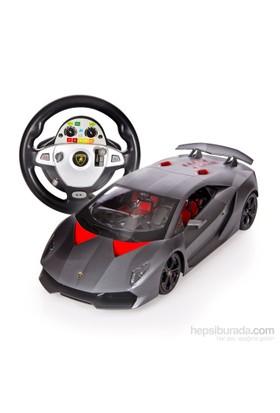 Vardem Direksiyon Kumandalı Şarjlı 1:12 Lamborghini, Füme