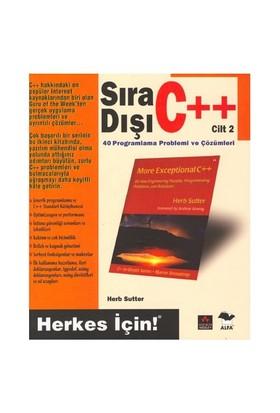 SIRA DIŞI C++ / CİLT 2 - Herb Sutter